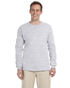 Ash Grey Adult Ultra Cotton® 6 oz. Long-Sleeve T-Shirt