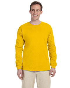 Gold Adult Ultra Cotton® 6 oz. Long-Sleeve T-Shirt