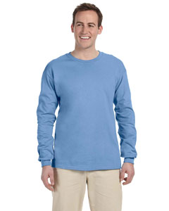 Carolina Blue Adult Ultra Cotton® 6 oz. Long-Sleeve T-Shirt