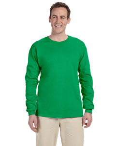 Irish Green Adult Ultra Cotton® 6 oz. Long-Sleeve T-Shirt