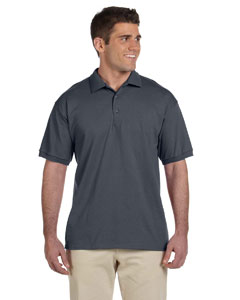 Charcoal Adult Ultra Cotton® 6 oz. Jersey Polo