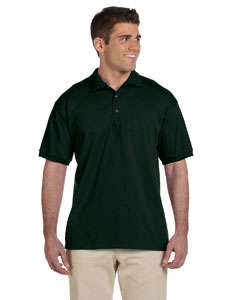 Forest Green Adult Ultra Cotton® 6 oz. Jersey Polo