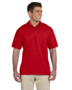 Red Adult Ultra Cotton® 6 oz. Jersey Polo
