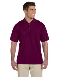 Maroon Adult Ultra Cotton® 6 oz. Jersey Polo