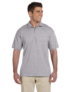Sport Grey Adult Ultra Cotton® 6 oz. Jersey Polo
