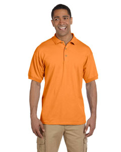 Tangerine Ultra Cotton® 6.5 oz. Pique Polo