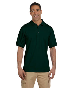 Forest Green Ultra Cotton® 6.5 oz. Pique Polo