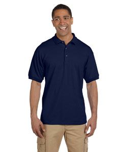 Navy Ultra Cotton® 6.5 oz. Pique Polo