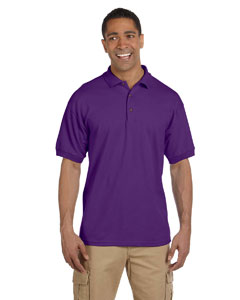 Purple Ultra Cotton® 6.5 oz. Pique Polo