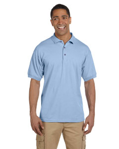 Light Blue Ultra Cotton® 6.5 oz. Pique Polo