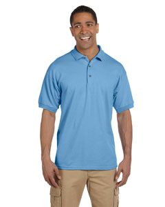 Carolina Blue Ultra Cotton® 6.5 oz. Pique Polo