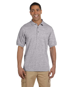 Sport Grey Ultra Cotton® 6.5 oz. Pique Polo