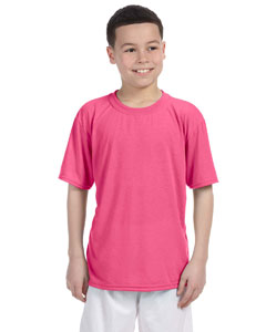 Safety Pink Performance® Youth 4.5 oz. T-Shirt