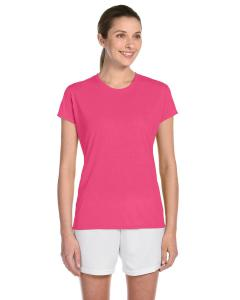 Safety Pink Women's 4.5 oz. Performance® T-Shirt