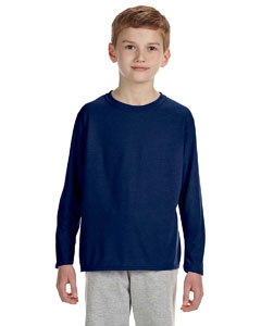 Navy Performance® Youth 4.5 oz. Long-Sleeve T-Shirt