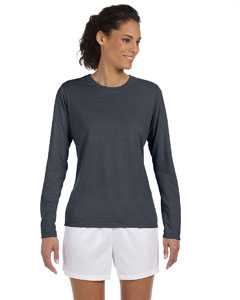 Charcoal Women's 4.5 oz. Performance Long-Sleeve T-Shirt