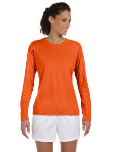 Orange Women's 4.5 oz. Performance Long-Sleeve T-Shirt