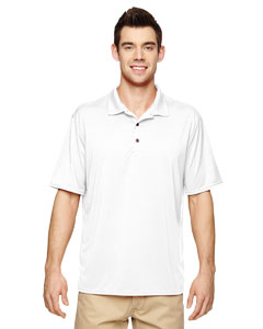 White Performance® Adult 4.7 oz. Jersey Polo