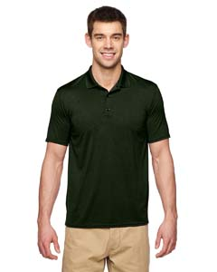 Marbl Forest Grn Performance® Adult 4.7 oz. Jersey Polo