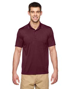 Marble Maroon Performance® Adult 4.7 oz. Jersey Polo