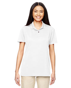 White Ladies' Performance® 4.7 oz. Jersey Polo