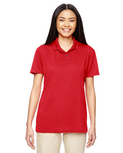 Red Ladies' Performance® 4.7 oz. Jersey Polo
