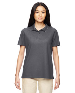 Marble Charcoal Ladies' Performance® 4.7 oz. Jersey Polo