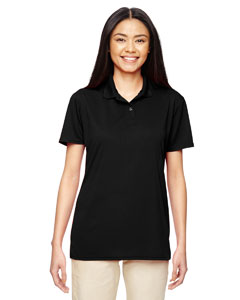 Black Ladies' Performance® 4.7 oz. Jersey Polo