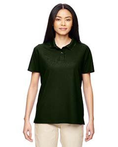 Marbl Forest Grn Ladies' Performance® 4.7 oz. Jersey Polo