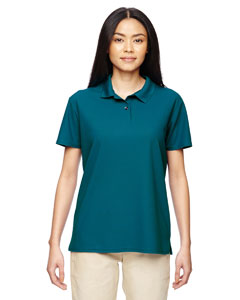 Marble Galp Blue Ladies' Performance® 4.7 oz. Jersey Polo