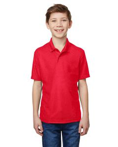 Red Youth Performance® 5.6 oz. Double Pique Polo