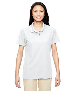 White Performance® Ladies' 5.6 oz. Double Piqué Polo