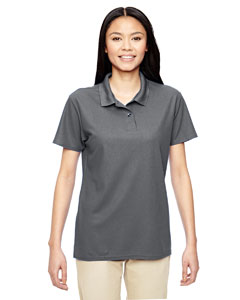 Charcoal Performance® Ladies' 5.6 oz. Double Piqué Polo