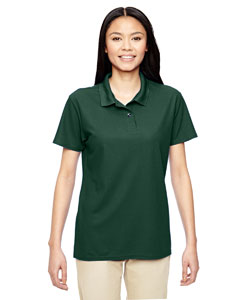 Forest Green Performance® Ladies' 5.6 oz. Double Piqué Polo