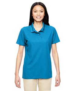 Sapphire Performance® Ladies' 5.6 oz. Double Piqué Polo