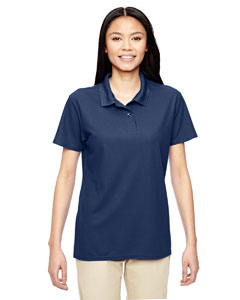 Navy Performance® Ladies' 5.6 oz. Double Piqué Polo