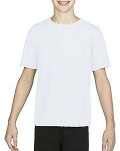 White Youth Performance®  4.7 oz. Core T-Shirt