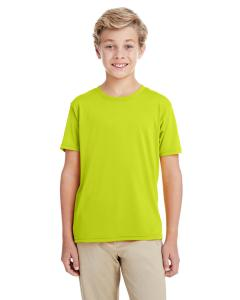 Safety Green Youth Performance®  4.7 oz. Core T-Shirt