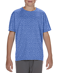 Hthr Sport Royal Youth Performance®  4.7 oz. Core T-Shirt