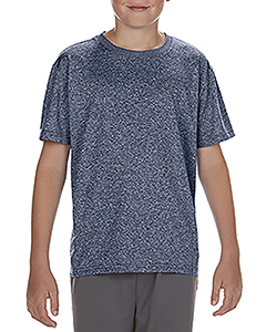 Hth Spt Drk Navy Youth Performance®  4.7 oz. Core T-Shirt