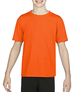 Hthr Sprt Orange Youth Performance®  4.7 oz. Core T-Shirt