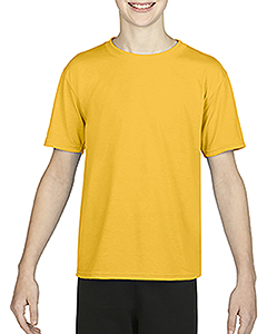 Sprt Athltc Gold Youth Performance®  4.7 oz. Core T-Shirt