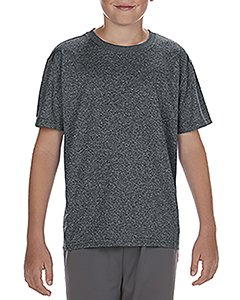 Hthr Sport Black Youth Performance®  4.7 oz. Core T-Shirt