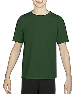 Sport Dark Green Youth Performance®  4.7 oz. Core T-Shirt