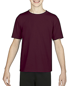 Sprt Drk Maroon Youth Performance®  4.7 oz. Core T-Shirt