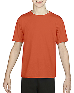 Sport Orange Youth Performance®  4.7 oz. Core T-Shirt