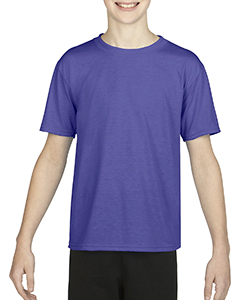 Sport Purple Youth Performance®  4.7 oz. Core T-Shirt