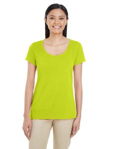 Safety Green Ladies' Performance® 4.7 oz. Core T-Shirt