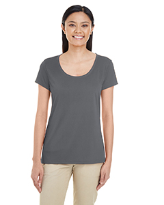 Charcoal Ladies' Performance® 4.7 oz. Core T-Shirt