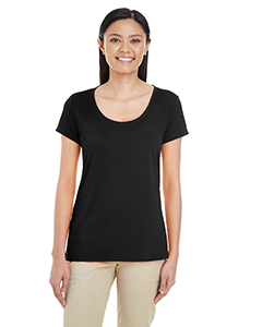 Black Ladies' Performance® 4.7 oz. Core T-Shirt